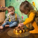 """""""smash the cake pour deux enfants gâteau au chocolat"""""""