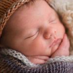 """""""détail d'une nouveau-né endormit"""""""